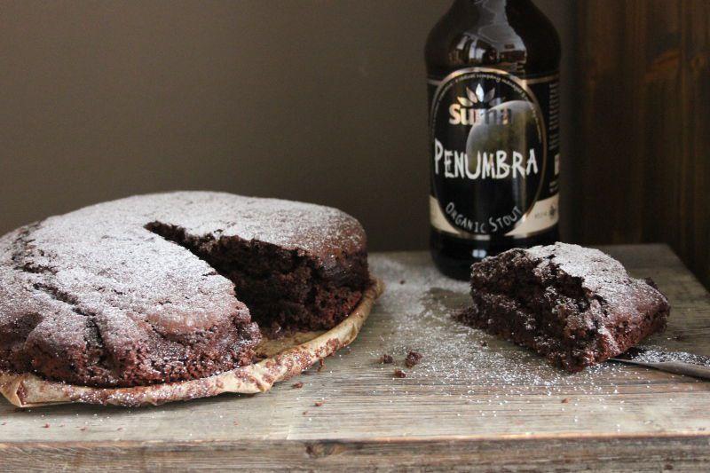 Image may contain: Food, Dessert, Cookie, Chocolate, Brownie, Biscuit, Drink, Beverage, Beer, Alcohol