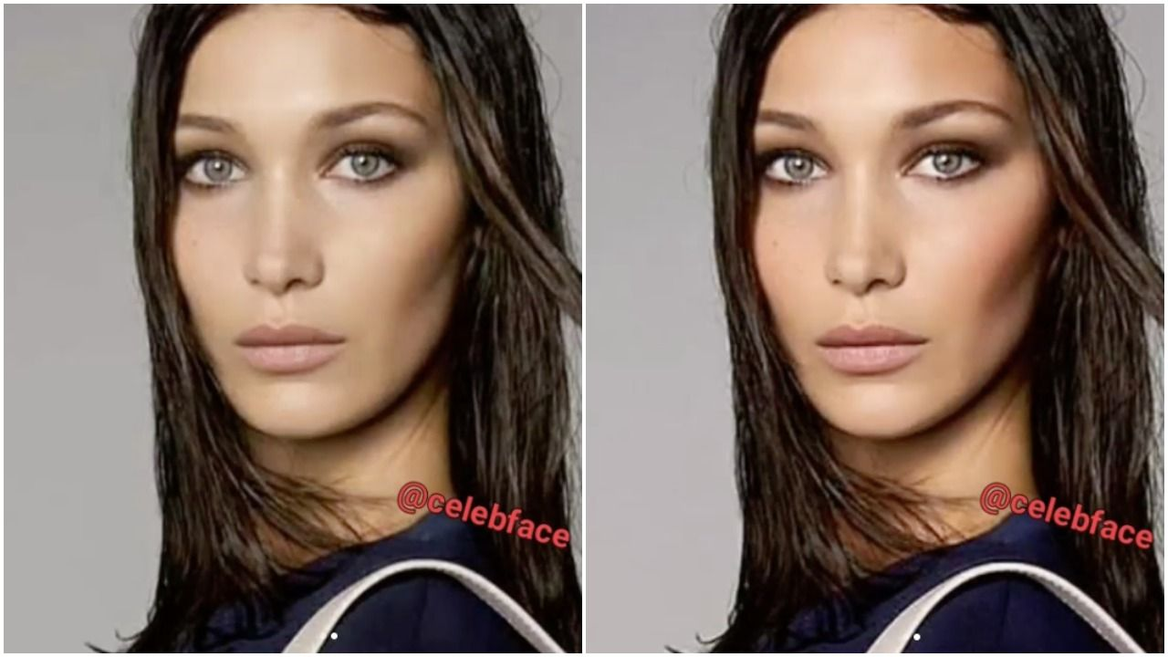 What Celebrities Look Like Before After Airbrushing new foto