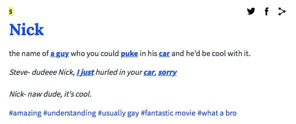 urban dictionary definition of hookup