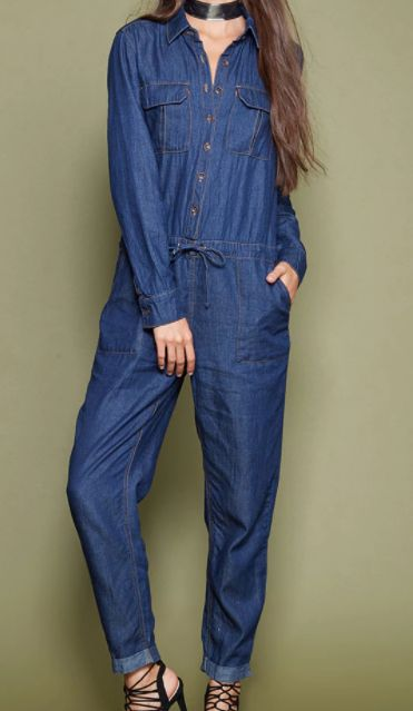 c23c11f3e9c5 Denim jumpsuits are the latest 2018 trend