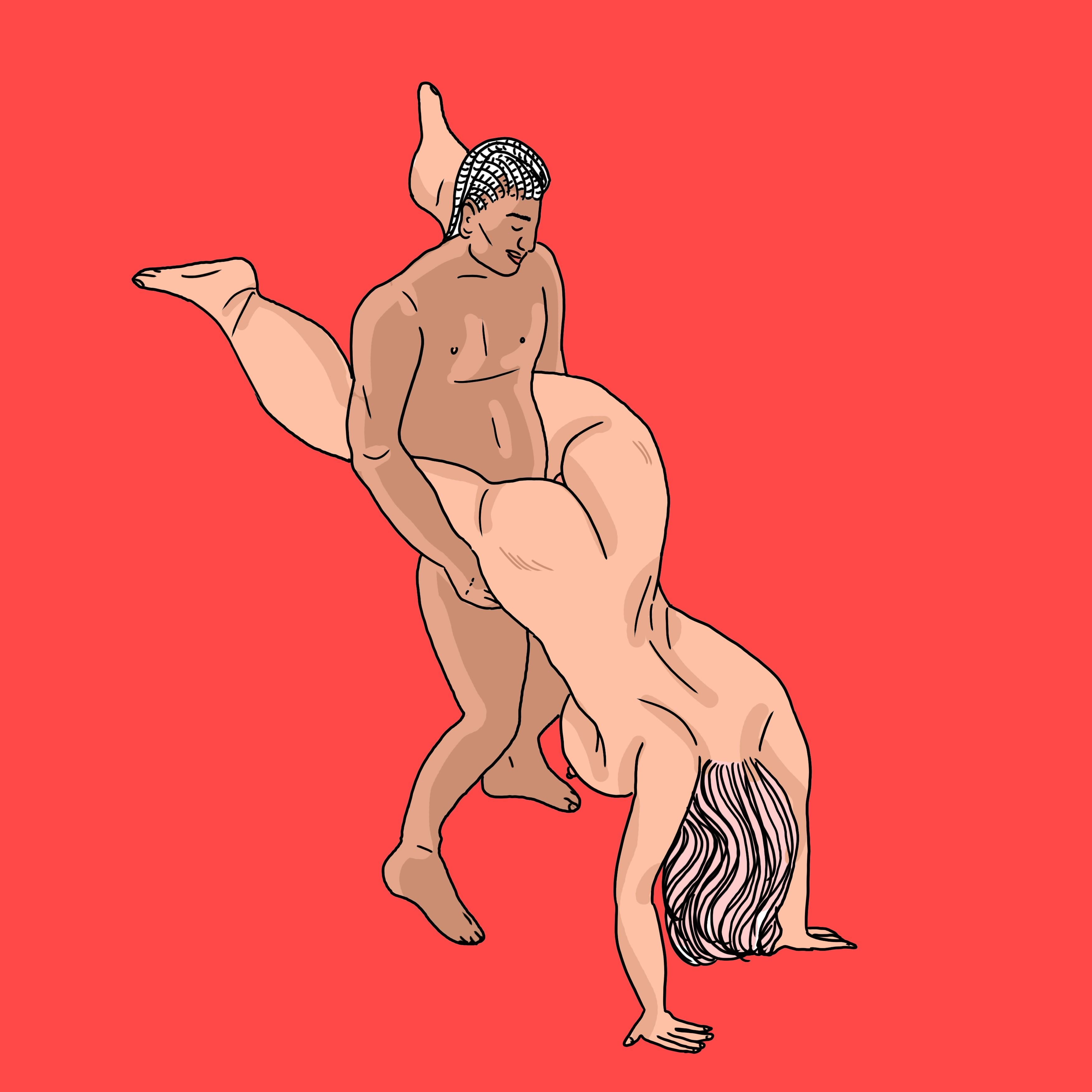 The Best Sex Positions For Bigger Guys