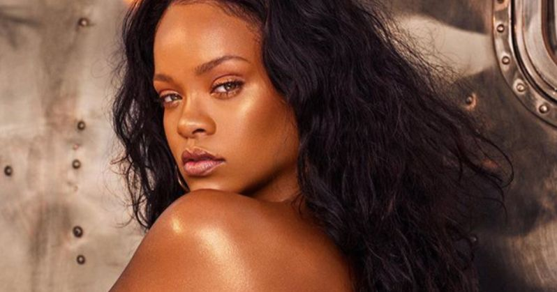 uncensored vogue Rihanna topless