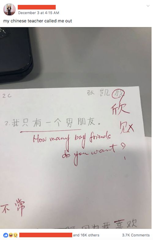 Image may contain: Handwriting, Text