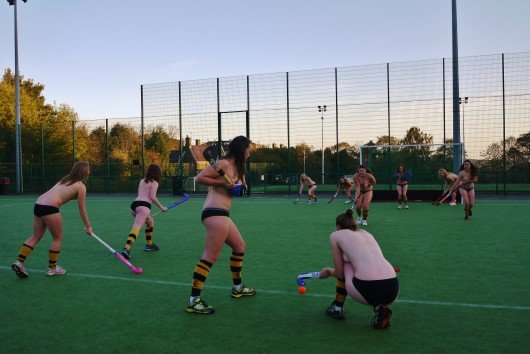 Sheffield Sports Teams Pose For Naked Calendar