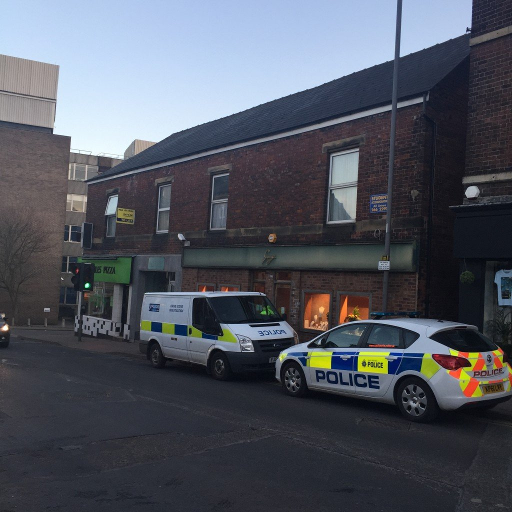The incident happened at George Jewellers, Broomhill