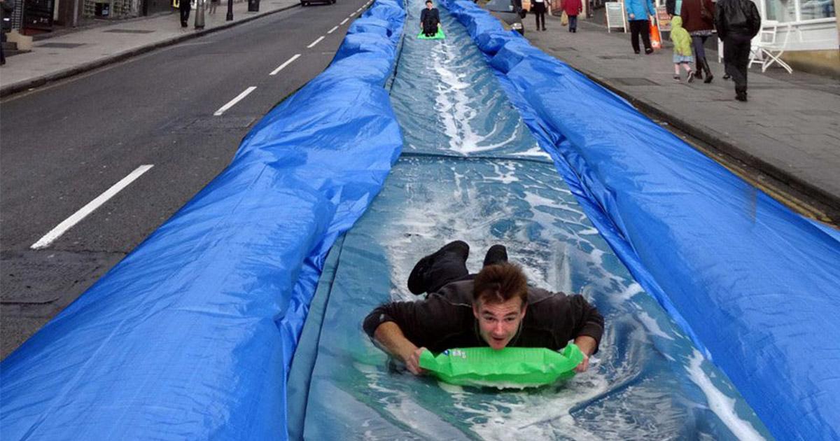 ampia selezione di design stile popolare migliore selezione del 2019 Sheffield giant water slide is no more