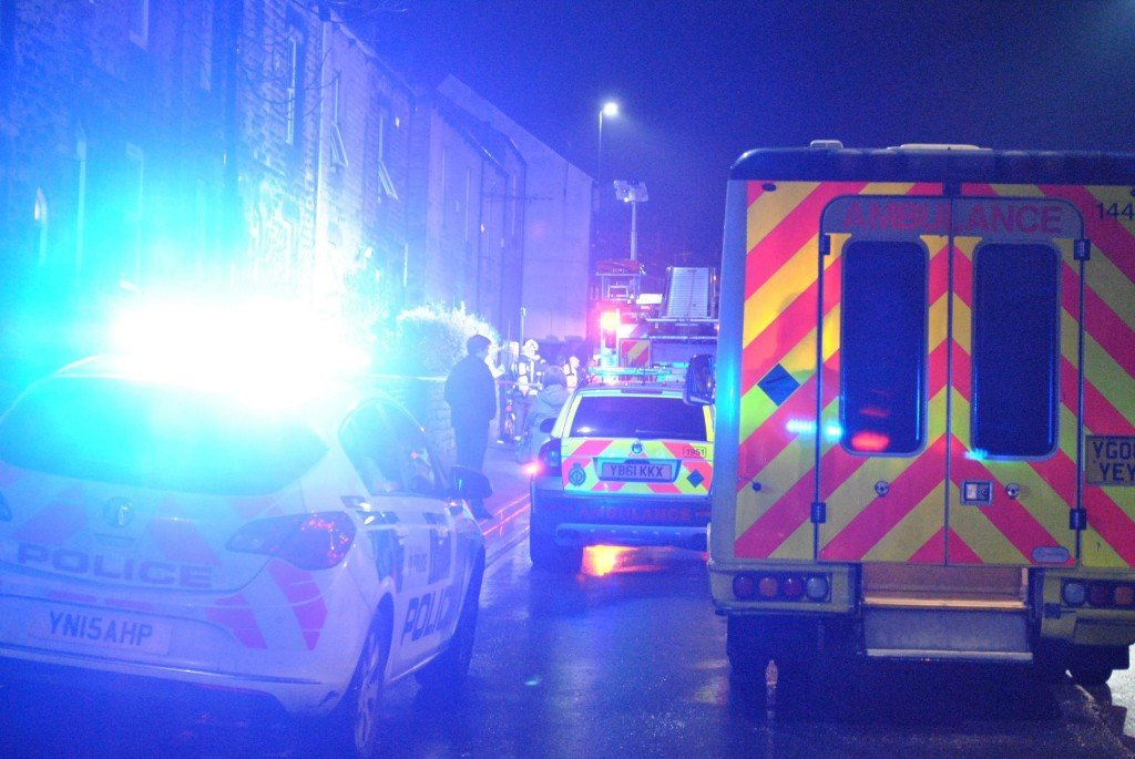 An ambulance attended, but it is not thought anyone was injured by the fire.