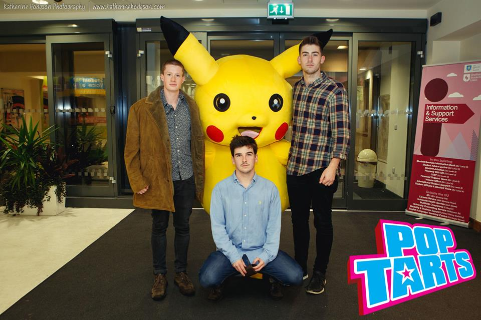 presumably the artwork for their upcoming Pokemon TV theme covers EP?