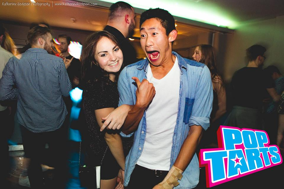 the reason he's so excited is because she's just told him where she's hid his top teeth