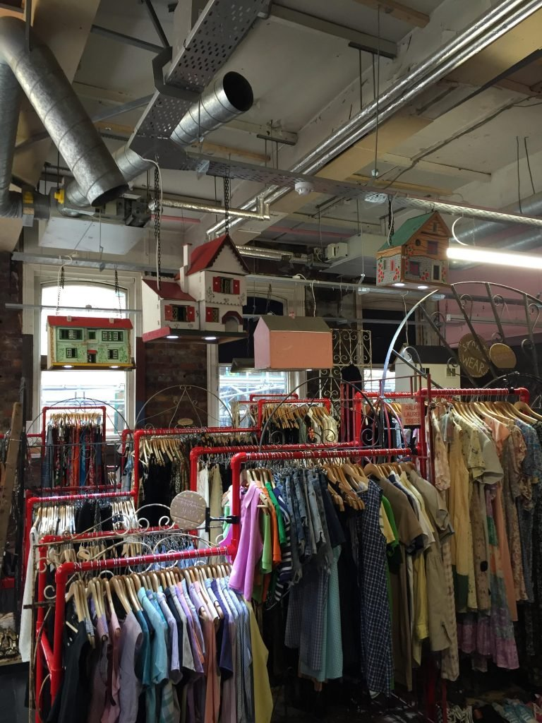 Situated opposite Tesco on West Street, Cow is more on the student radar  than other vintage stores.