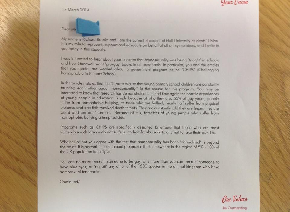 Præsident Hits Out Efter Homofobiske breve til EU-2453