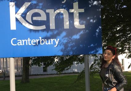 Nigar at Kent University