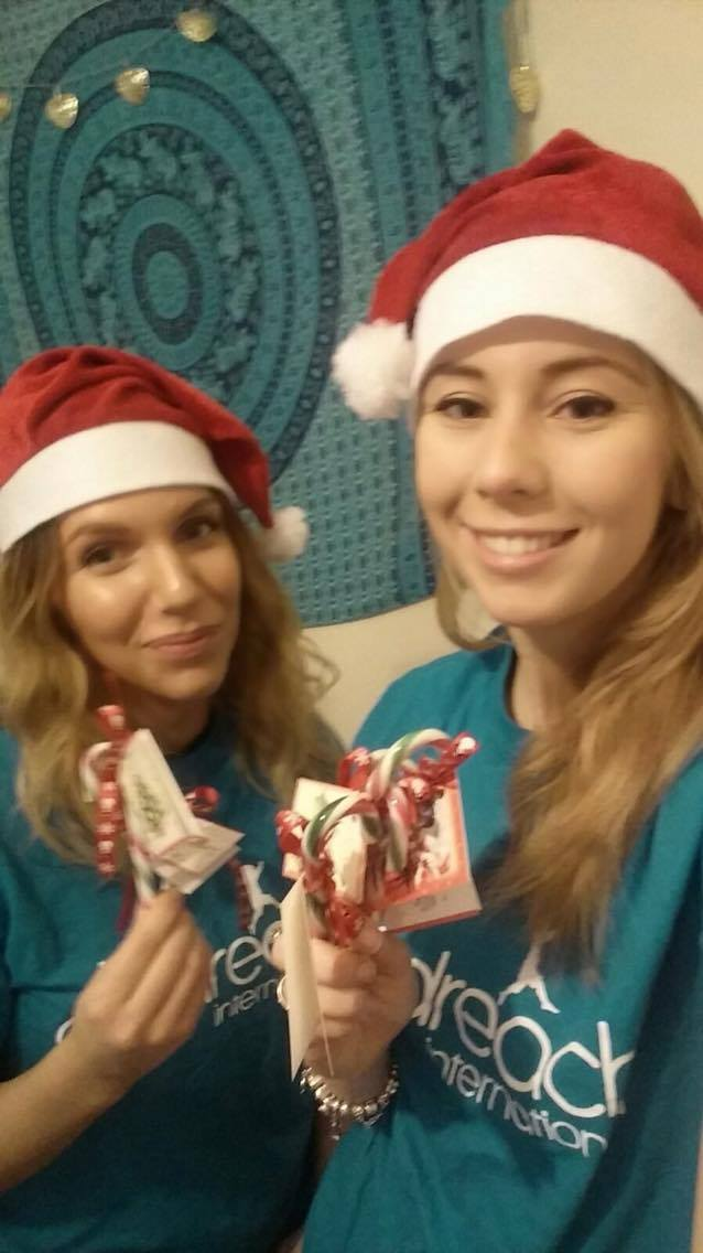 Third years, Ellie and Sophia, will be getting into the yuletide spirit on Wednesday and Friday this week