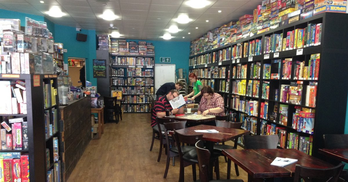 Board Games Cafe New York