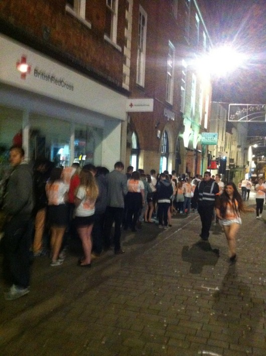 The only thing crazy about it was the queue for Lola Lo's!!