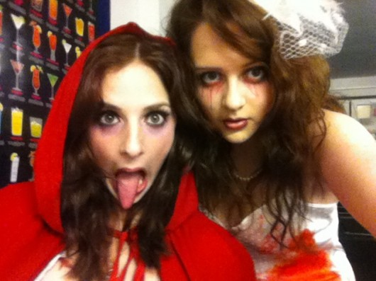 Jui as a Zombie Bride