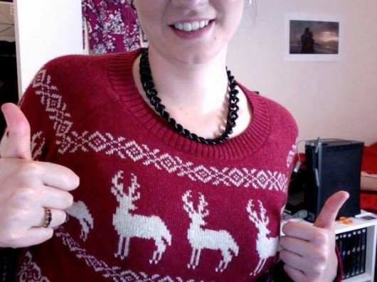 Some people are loving Christmas jumpers!