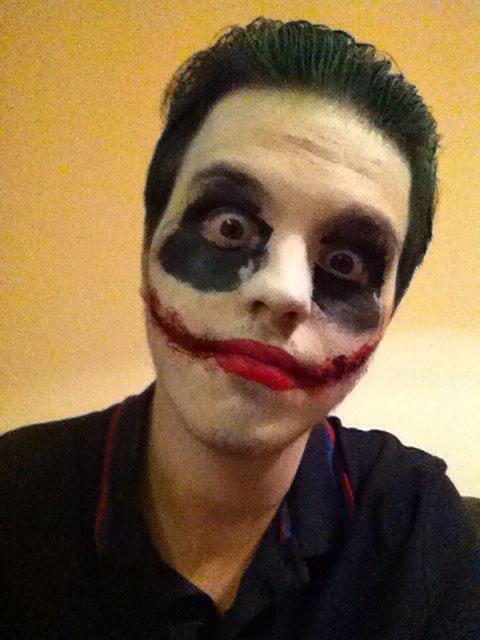 Simon features editor as the Joker