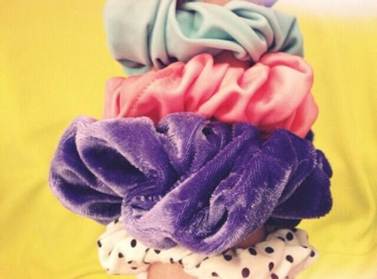 """""""Wearing too many scrunchies purchased from a charity shop is a vital sign of edginess."""""""