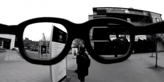 Screenshot: Olivia's spectacles video