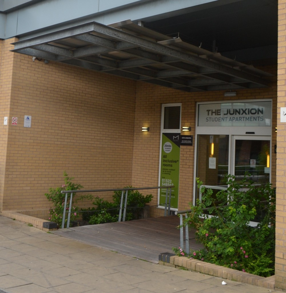 Front entrance of The Junxion