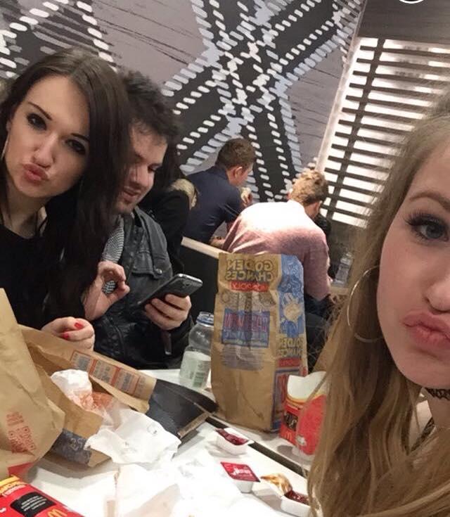 we love an ugly takeaway selfie