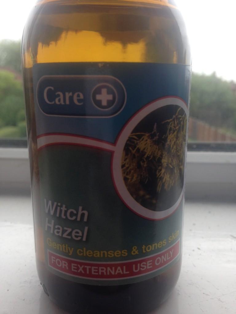 Witch hazel oil from Superdrug - £2.59