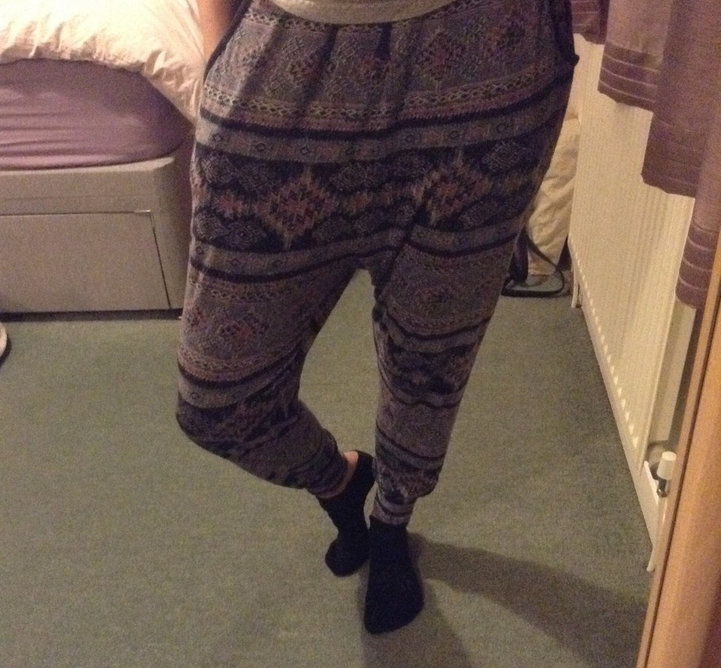 Traditional harem pants from Urban Outfitters... sorry, India!