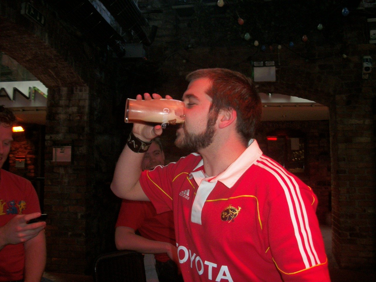The BNOC can also be spotted by their chronic wearing of rugby shirts