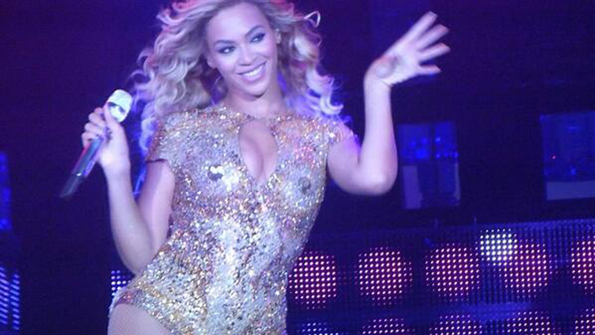 Beyonce in Birmingham on her 'Mrs Carter' tour