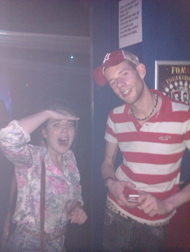 On the look-out for naughty under-age drinkers in Club Revenge