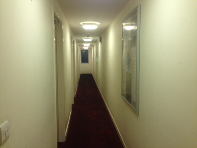 The long corridor of people whose names I don't know.
