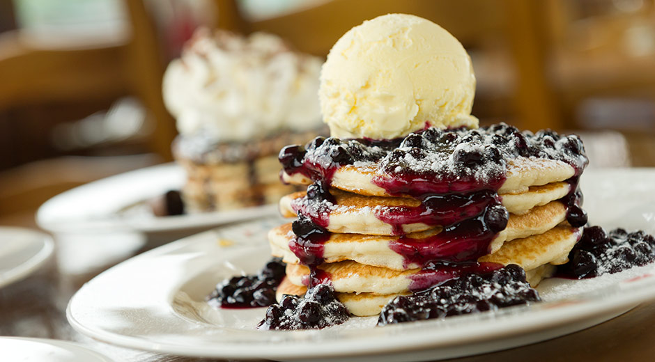 Delight American Pancake Stack. Credit: CenterParcs.co.uk