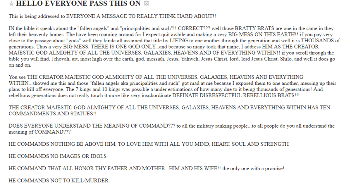 Brighton Craigslist Is The Creepiest Place On The Internet