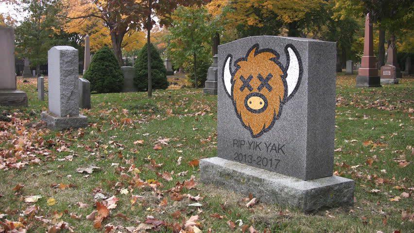 Yik Yak is officially dead  Long live Yik Yak