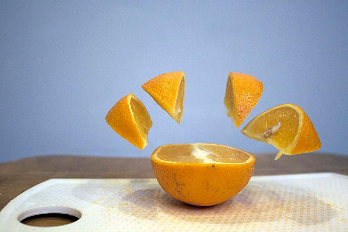 Image may contain: Orange, Saucer, Porcelain, Grapefruit, Fruit, Citrus Fruit