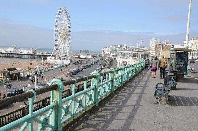 Image may contain: Urban, Town, City, Building, Bridge, Traffic Jam, Bench