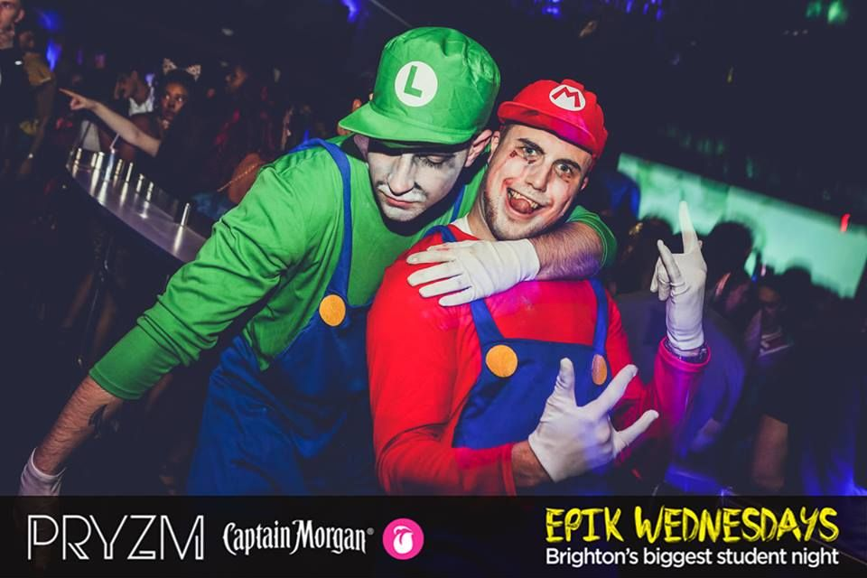 Image may contain: Leisure Activities, Dj, Disco, Apparel, Hat, Clothing, Party, Night Club, Club, Human, Person