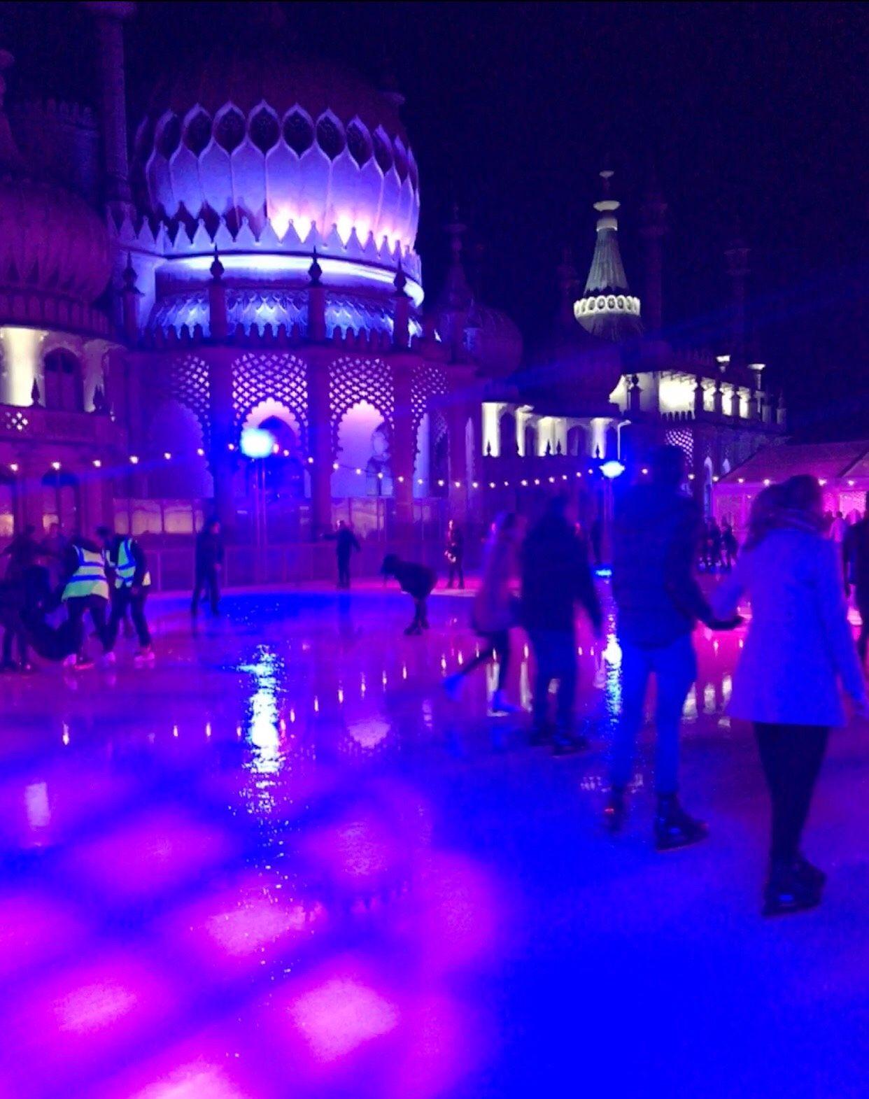 Image may contain: Rink, Club, Ice Skating, Sport, Sports, Skating, Lighting, Human, Person