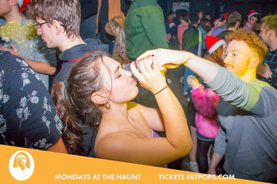 Image may contain: Beverage, Drink, Leisure Activities, Night Club, Club, Party, Human, Person