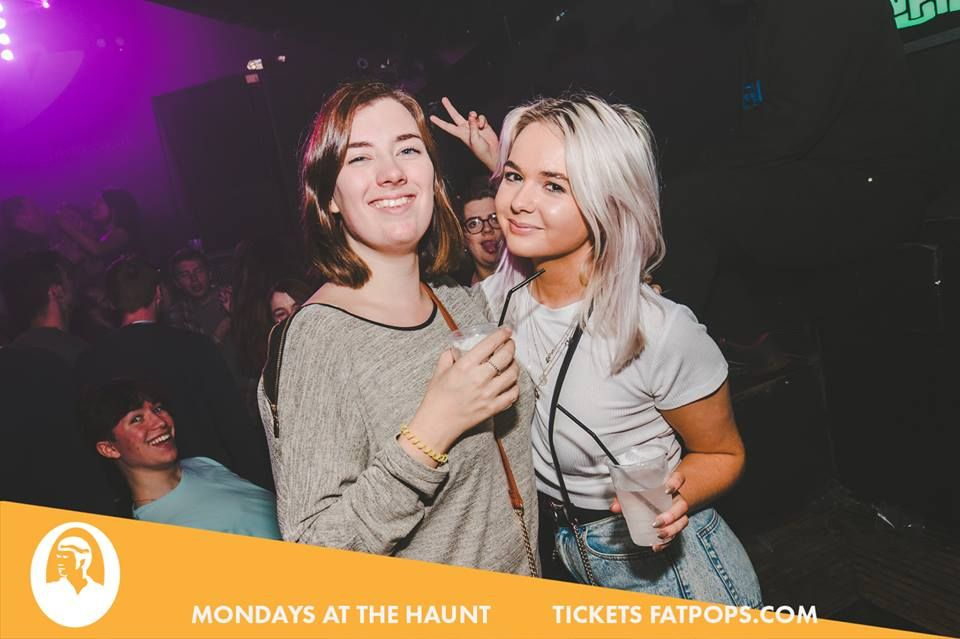 Image may contain: Face, Night Club, Club, Party, Human, Person
