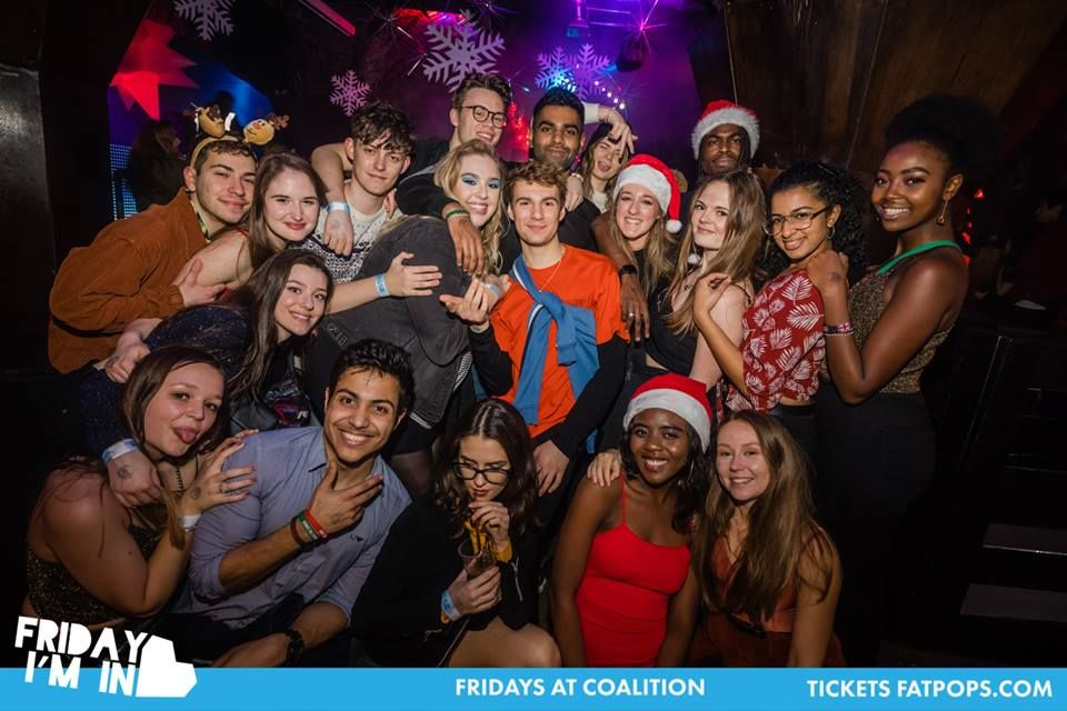 Image may contain: Smile, Night Club, Club, Face, Night Life, Person, Human, Party