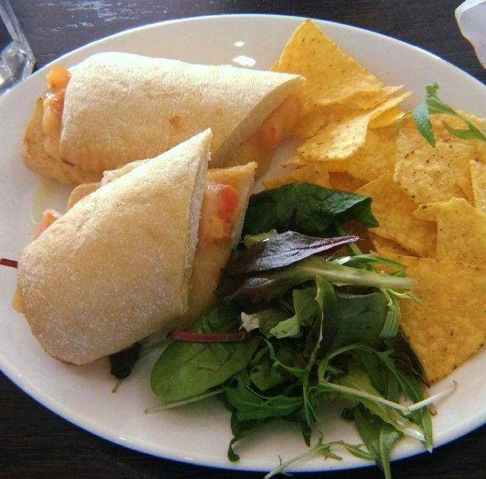Image may contain: Seasoning, Food, Sandwich