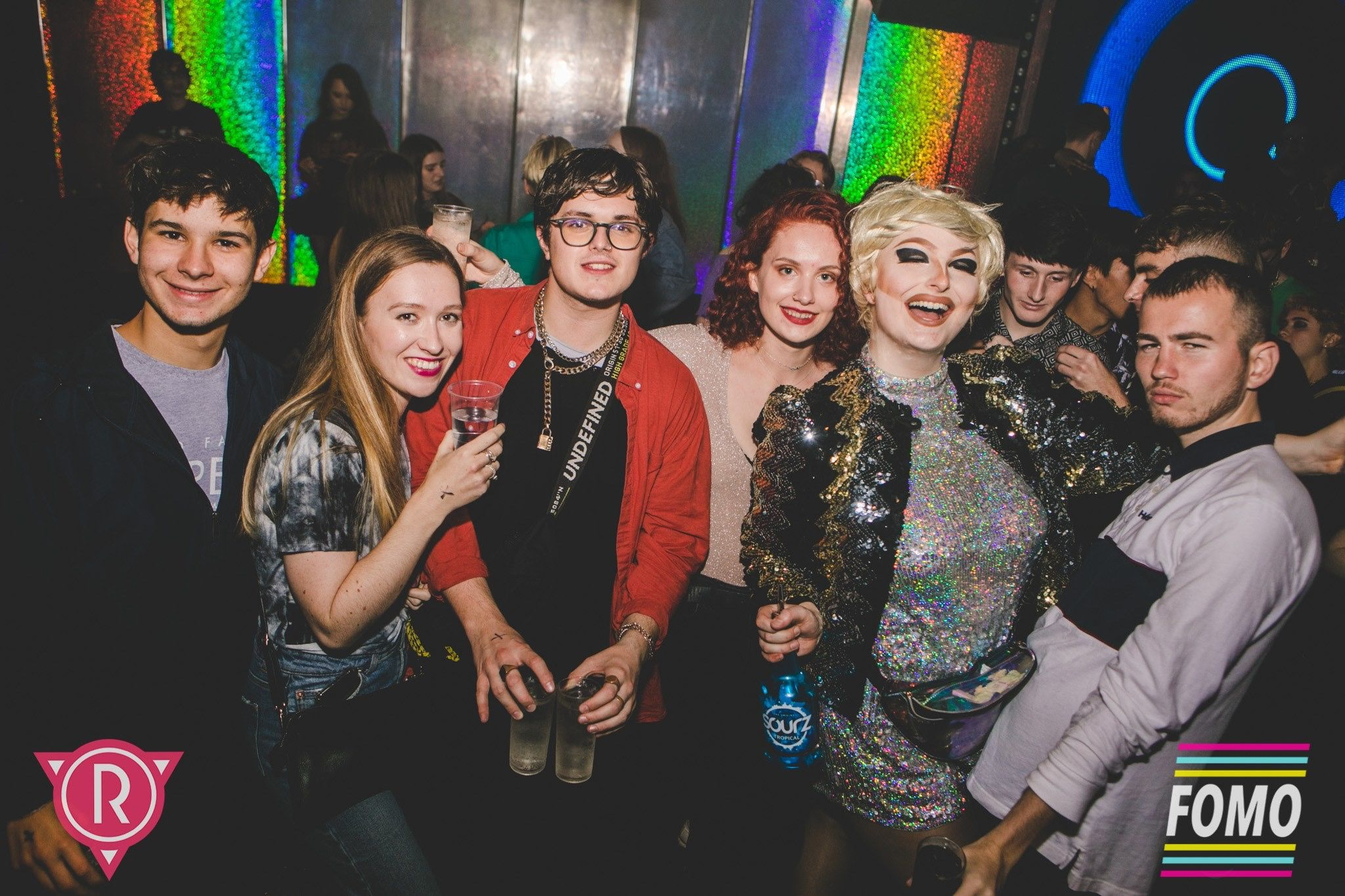 Image may contain: Disco, Night Life, Party, Accessory, Glasses, Accessories, Night Club, Club, Person, Human