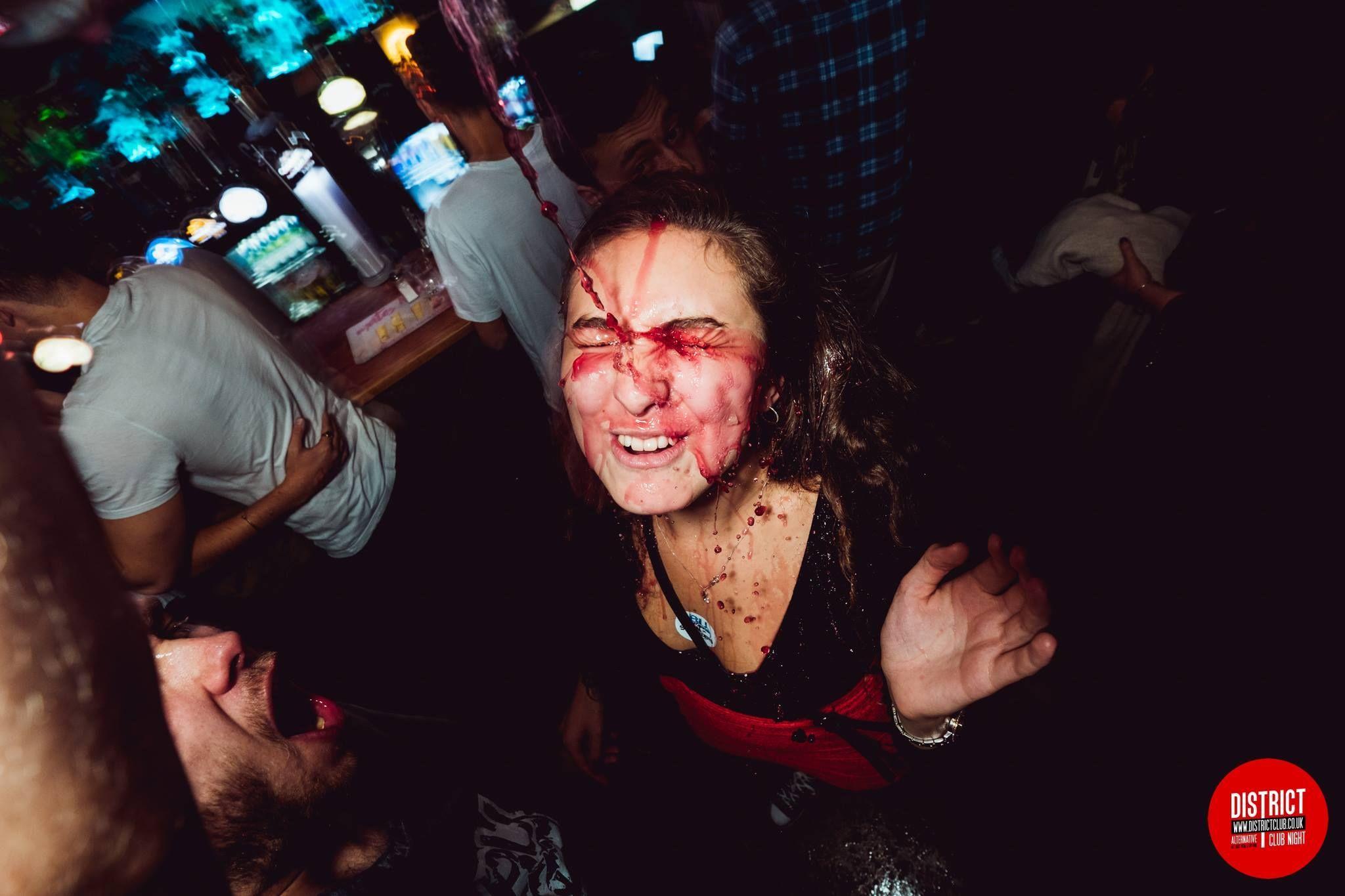 Image may contain: Night Club, Club, Night Life, Bar Counter, Person, Human, Pub