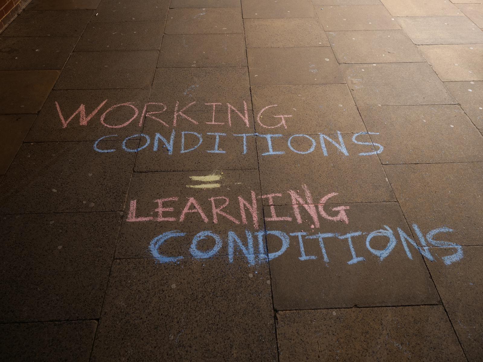 Image may contain: Handwriting, Flooring, Sidewalk, Pavement, Flagstone, Path, Floor, Text