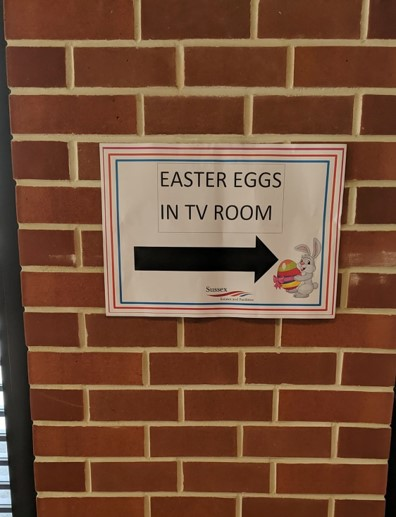 Sussex Uni Deliver Hundreds Of Easter Eggs To On Campus Accommodation