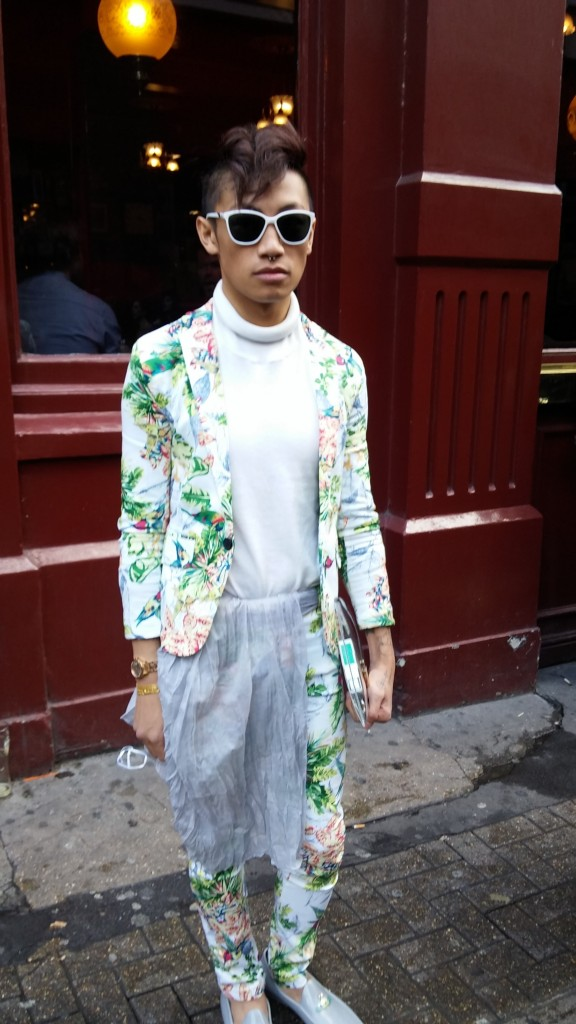 Floral is the new black