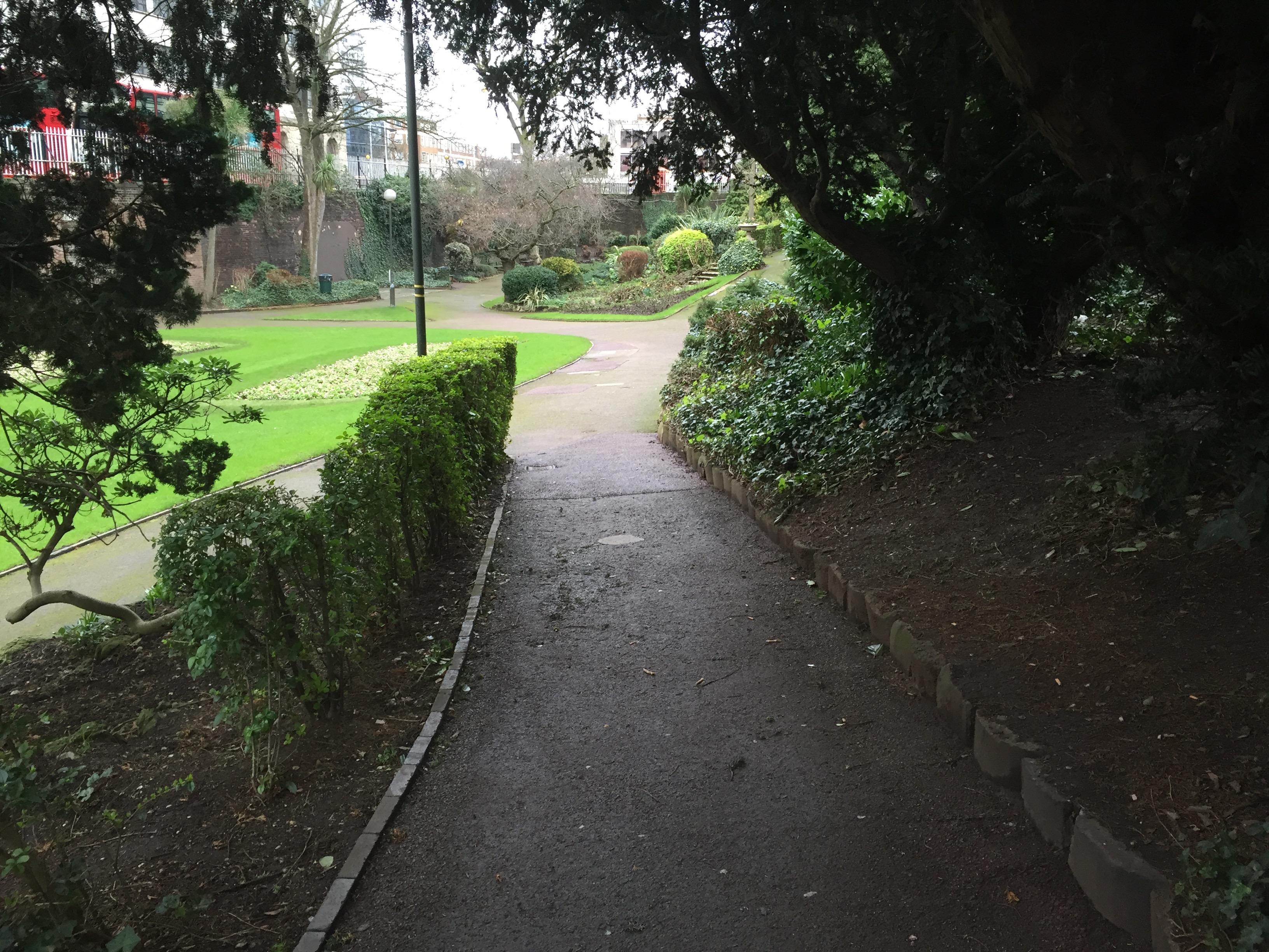 Croydon's own secret garden... next to a carriageway