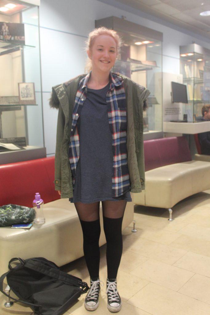 Hannah Barham, Physio, second year